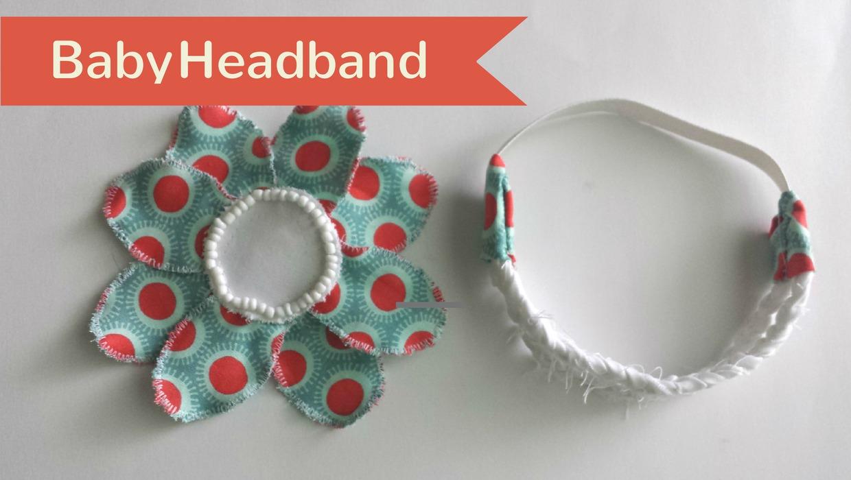 baby headband video image
