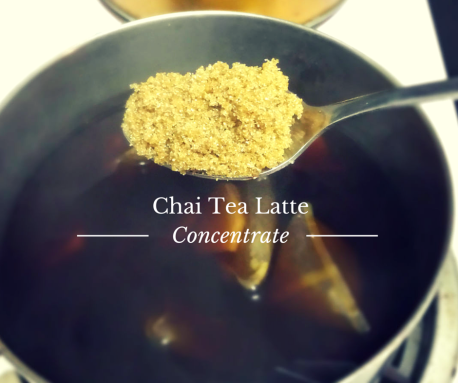 chai tealatte concentrate